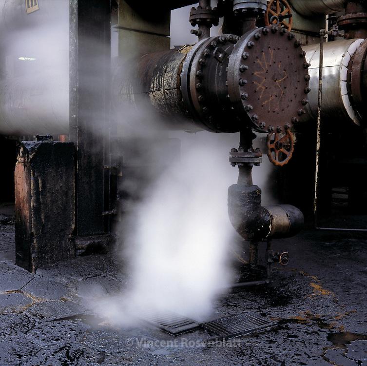 Raffinerie de petrole de Manguinhos, a Rio de Janeiro. <br /> // Oil refinery in Manguinhos, Rio de Janeiro