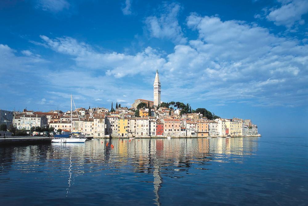 historic town, Rovinj, Croatia