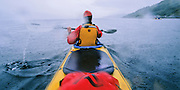 SEA KAYAKING, SCOTLAND, W. coast south of Oban Loch Sween