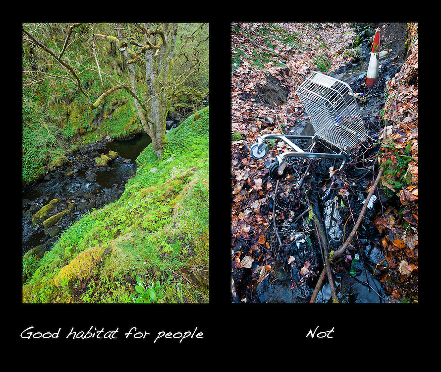 Good habitat for people - not. 3