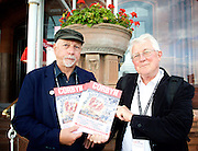 Jeremy Corbyn MP <br /> speech to the Labour Women's Conference, Brighton, Great Britain <br /> 26th September 2015 <br /> Some Labour activists outside the Hilton Hotel <br /> Photograph by Elliott Franks <br /> Image licensed to Elliott Franks Photography Services