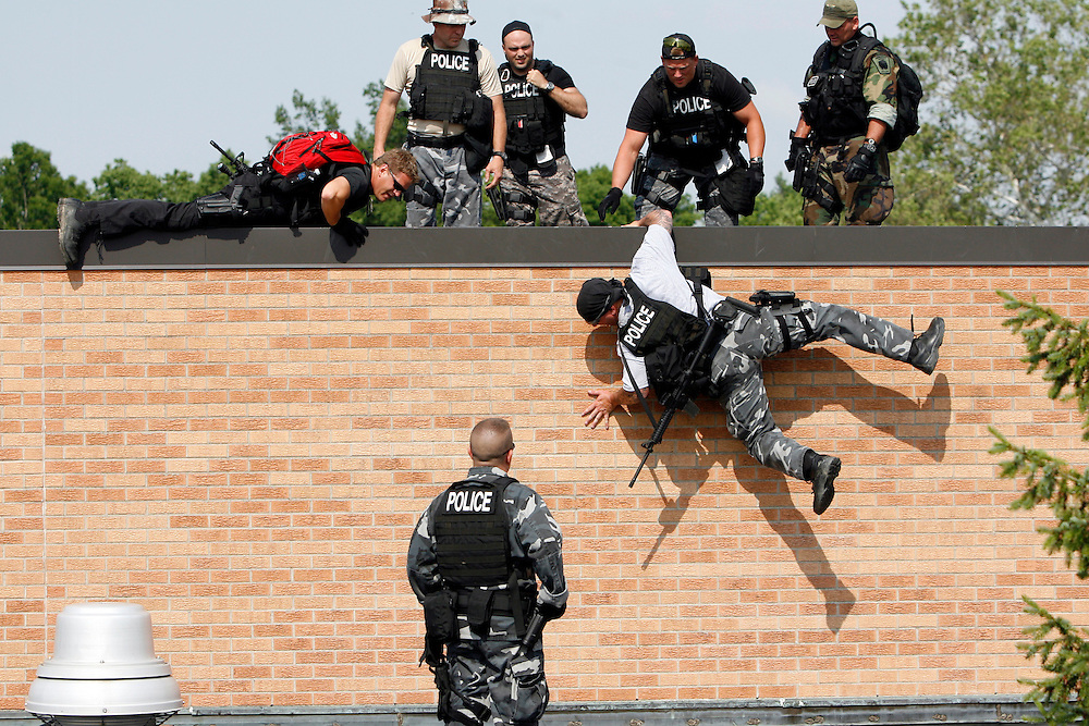 SWAT School hosted by the Delaware County Sheriff Department in Muncie, Indiana.