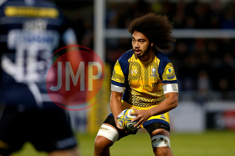 Chris Vui of Worcester Warriors - Mandatory by-line: Matt McNulty/JMP - 07/04/2017 - RUGBY - AJ Bell Stadium - Sale, England - Sale Sharks v Worcester Warriors - Aviva Premiership