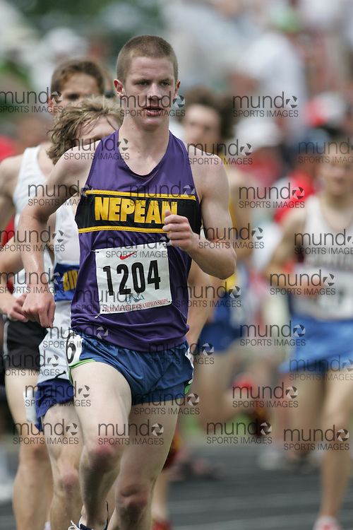 Hamilton, Ontario ---07/06/08--- Ian Donald of Nepean in Nepean competes in the  at the 2008 OFSAA Track and Field meet in Hamilton, Ontario..Sean Burges