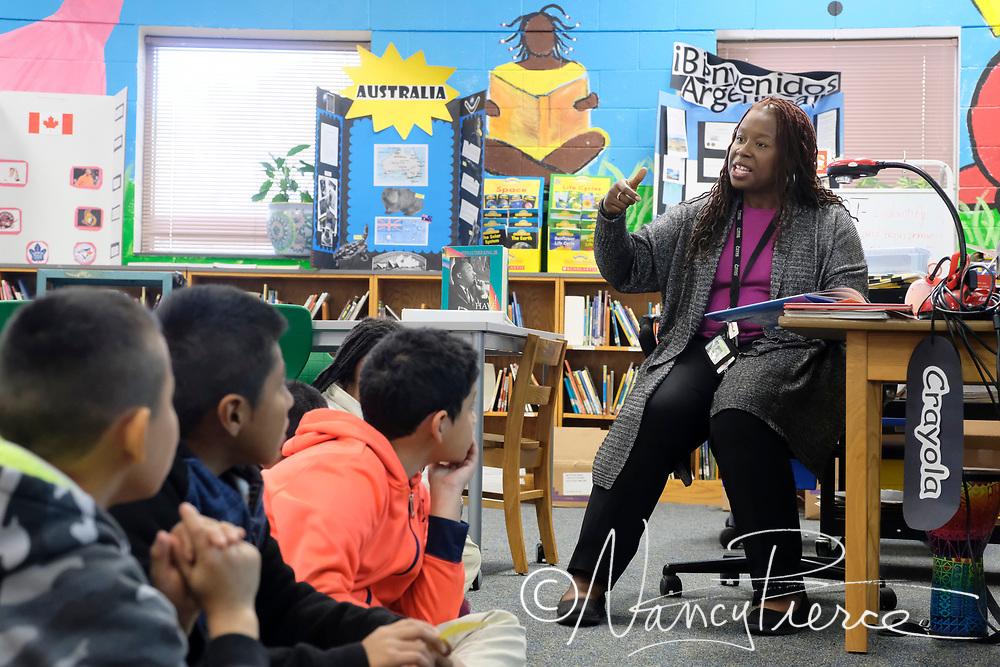 2018  Northeast Learning Community Teacher of the Year Liliet Council, Hidden Valley Elementary (Media Coordinator)