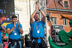 Alberto Giuliani - Head coach of Slovenian National volleyball team during the Day for the medals: Reception of Slovenian sport heroes on 30.9.2019 on Kongresni square, Ljubljana, Slovenia. Photo by Urban Meglič / Sportida