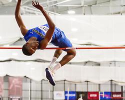 Boston University John Terrier Classic Indoor Track & Field: mens high jump, Monroe College, Swaby