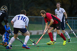 Southgate M2 v East Grinstead M2 - England Hockey 2nd XI Cup, Trent Park, London, UK on 27 November 2016. Photo: Simon Parker