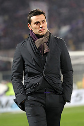 16.01.2012, Stadio Artemio Franchi, Florenz, ITA, TIM Cup, AC Florenz vs AS Rom, Viertelfinale, im Bild Vincenzo Montella Fiorentina // during the Italian TIM Cup quarterfinal match between ACF Fiorentina and AS Roma at the Artemio Franchi Stadium, Florence, Italy on 2013/01/16. EXPA Pictures © 2013, PhotoCredit: EXPA/ Insidefoto/ Paolo Nucci..***** ATTENTION - for AUT, SLO, CRO, SRB, BIH and SWE only *****