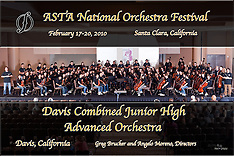 Davis Combined Junior high Advanced Orchestra