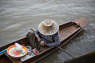 amphawa floating market thailand