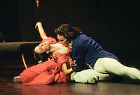 Sylvie Guillem and Nicholas LeRiche in Margueritte and Armand. Royal Ballet tour, Mariinsky Theatre,St. Petersburg, Russia