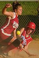20070510 HS Softball Charlotte Cathoic v West Meck