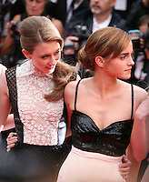 Taissa Fariga, Emma Watson, cast of The Bling Ring at the gala screening of Jeune & Jolie at the 2013 Cannes Film Festival 16th May 2013