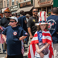 New York. memorial day parade in Bay ridge , Brooklyn