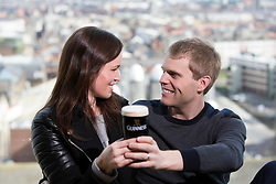 Repro Free: 15/03/2014 <br /> Davina and Mark Geels pictured at the Guinness Storehouse St. Patrick&rsquo;s Festival. The four day festival is showcasing some of Ireland&rsquo;s best music, food and rugby over the weekend including and the ultimate rugby hub with a live broadcast by Newstalk Off The Ball. Enjoy GUINNESS sensibly. Visit drinkaware.ie Picture Andres Poveda