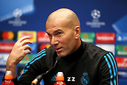 Real Madrid Training Session and Press Conference - 31 October 2017