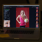 Costa Mesa, CA - November 6, 2014.  Morning Portrait session with instruction from Tim Mantoani at Sports Shooter Academy XI.   Image Credit: Amanda Schwarzer Behind the Scenes with the cast and crew of Sports Shooter Academy.