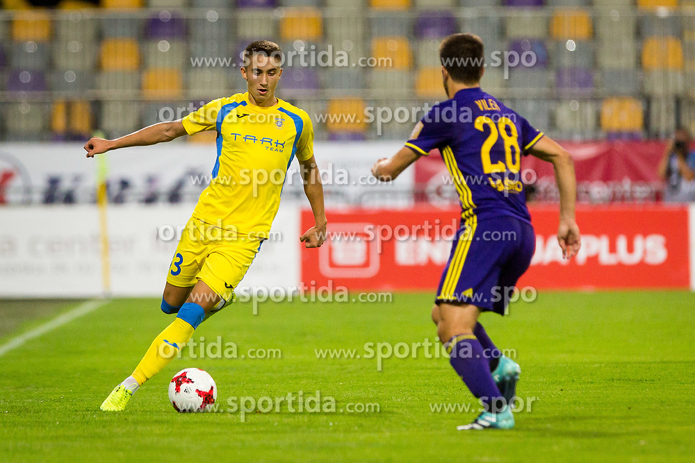 Matija Rom of NK Domzale during football match between NK Maribor and NK Domzale in 5th Round of Prva liga Telekom Slovenije 2017/18, on August 11, 2017 in Ljudski vrt, Maribor, Slovenia. Photo by Ziga Zupan / Sportida
