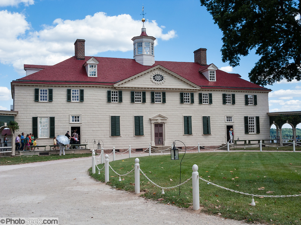 mount vernon virginia usa plantation home of george