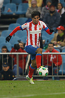 12.12.2012 SPAIN - Copa del Rey 12/13 Matchday 8th  match played between Atletico de Madrid vs Getafe C.F. (3-0) at Vicente Calderon stadium. The picture show Arda Turan (Turkish midfielder of At. Madrid)