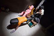 """55th Art Biennale in Venice - The Encyclopedic Palace (Il Palazzo Enciclopedico).<br /> Arsenale.<br /> Indonesia exhibition.<br /> Eko Nugroho (Indonesia). """"Penghasut Badai-Badai"""", 2012."""