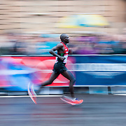 Action from the mens marathon at the Glasgow2014 Commonwealth Games in Glasgow, 27 July 2014. (c) Paul J Roberts / RobertsSports Photo