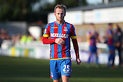 Crystal Palace Barry Bannan during the The FA Cup Third Round match between Dover Athletic and Crystal Palace at Crabble Athletic Ground, Dover, United Kingdom on 4 January 2015. Photo by Phil Duncan.
