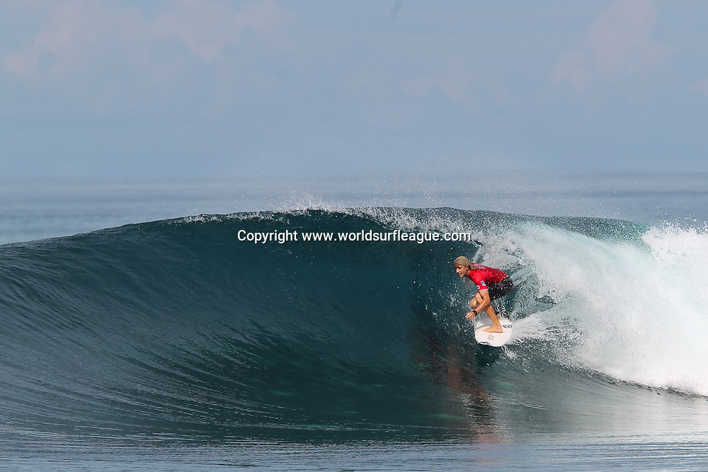 Chris Zaffis.<br /> Round 2 of the Mentawai Pro presented by Rip Curl has been completed in outstanding conditions at the world famous break of Lance&rsquo;s Right. Competitors were greeted once again with clean four-foot waves for one of the World Surf League&rsquo;s (WSL) most remote Qualifying Series (QS) event.<br /> Copyright photo: www.worldsurfleague.com