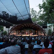 "The Bad Plus perform selections of original music from ""Made Possible"" at Libbey Bowl on June 6, 2013 in Ojai, California."