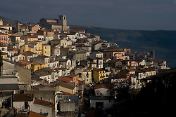 Rapolla, Basilicata, Italy - The town with the cathedral