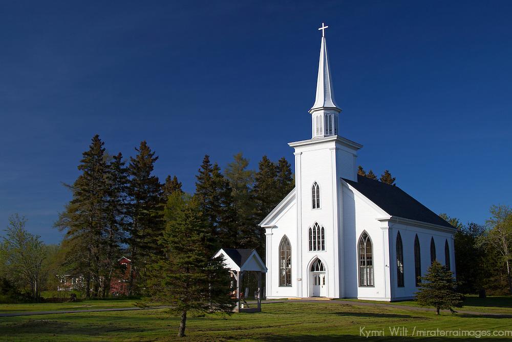 North America, Canada, Nova Scotia, Guysborough. St. Ann's Church.