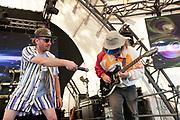 DarkMatta perform at the Glade stage, Glastonbury festival, Worthy farm 2019