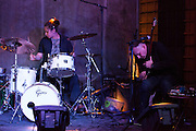The Russian band Astma performs at Instruso club in Madrid