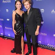 NLD/Scheveningen/20190922- Premiere Musical Anastasia, Soy Kroon en partner Holly Mae Brood
