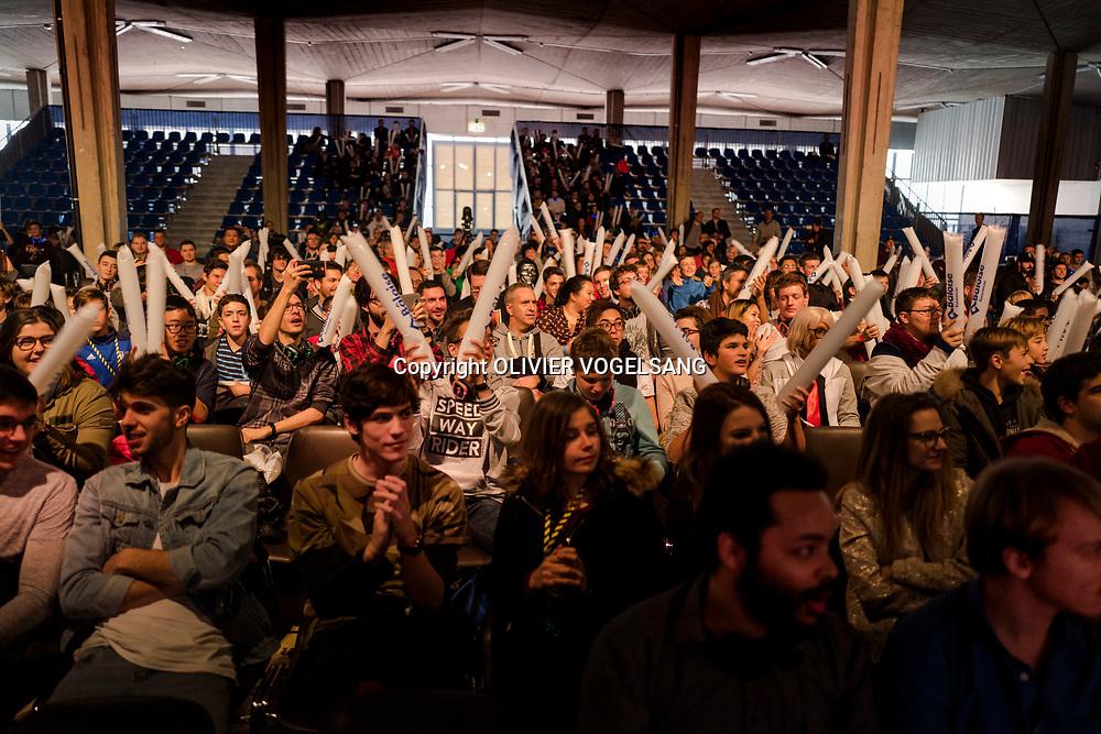 International gaming show  à Beaulieu. © Olivier Vogelsang