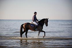 Van Asten Leopold, (NED), VDL Groep Zidane <br /> Sunday morning beach training - La Baule 2016<br /> © Hippo Foto - Dirk Caremans<br /> 15/05/16
