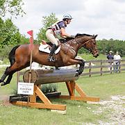 Lauren Kieffer and Riddle Master at the Florida International in Ocala, Florida.