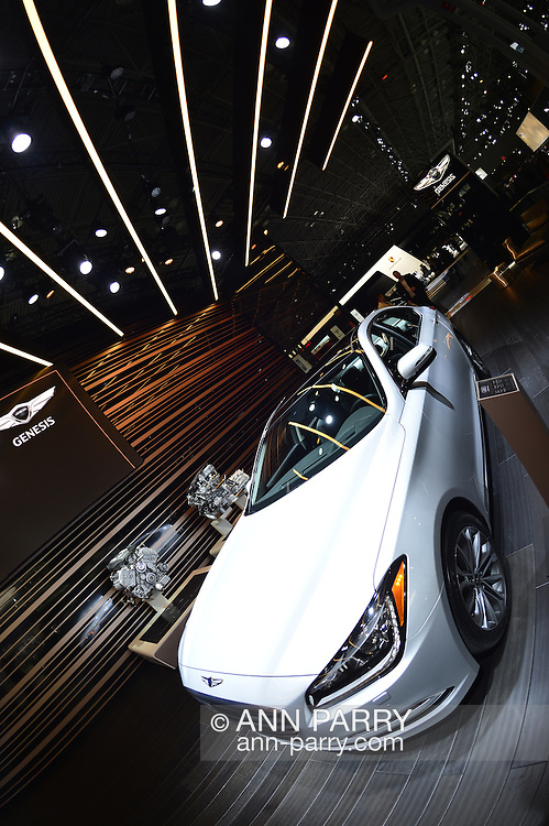 Genesis premieres New York Concept, its hybrid luxury sports sedan, at the New York International Auto Show 2016, at the Jacob Javits Center. This was Press Preview Day one of NYIAS, and the Trade Show will be open to the public for ten days, March 25th through April 3rd.