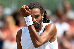 Dustin Brown of Germany looks dejected - Mandatory by-line: Matt McNulty/JMP - 05/06/2016 - TENNIS - Northern Tennis Club - Manchester, United Kingdom - AEGON Manchester Trophy