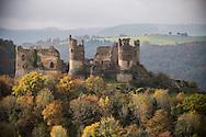 21/10/16 - SAINT REMY DE BLOT - PUY DE DOME - FRANCE - Site de Chateau Rocher dans les Gorges de la Sioule - Photo Jerome CHABANNE