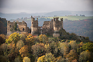21/10/16 - SAINT REMY DE BLOT - PUY DE DOME - FRANCE - Site de Chateau Rocher dans les Gorges de la Sioule - Photo Jerome CHABANNE