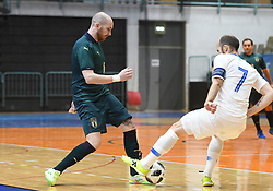 Angelo Schinina of Italy during futsal friendly match between National teams of Slovenia and Italy, on December 3, 2019 in Maribor, Slovenia. Photo by Milos Vujinovic / Sportida