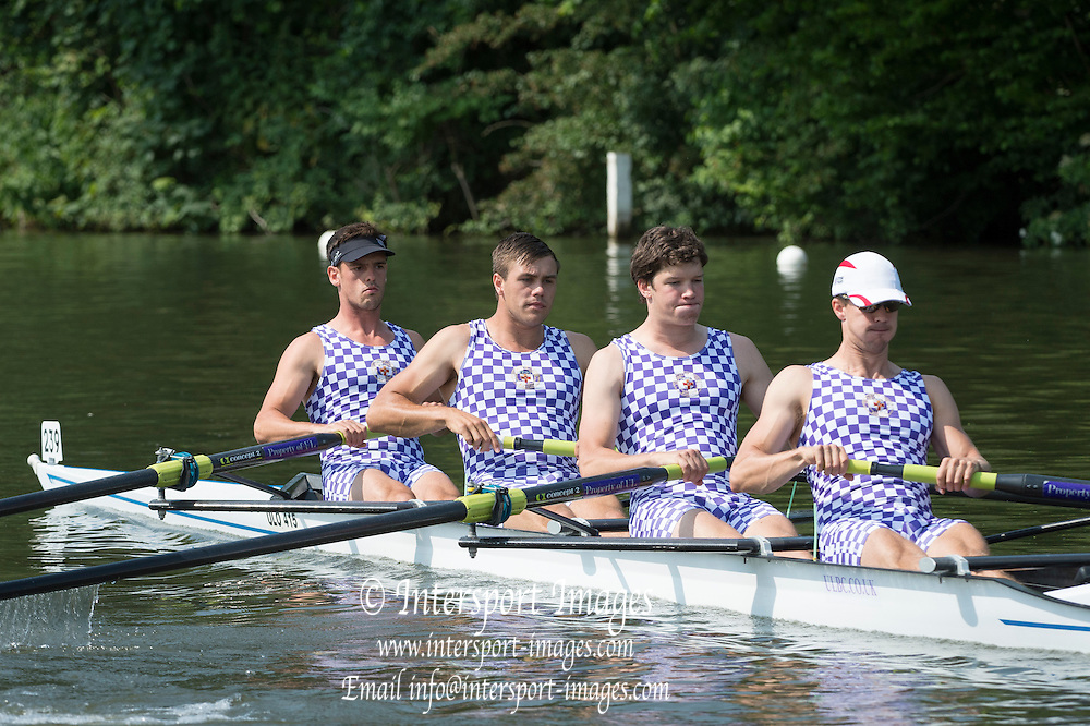 Henley Royal Regatta, Henley on Thames, Oxfordshire, 3-7 July 2013.  Friday  10:39:29   05/07/2013  [Mandatory Credit/Intersport Images]<br /> <br /> Rowing, Henley Reach, Henley Royal Regatta.<br /> <br /> The Wyfold Challenge Cup<br /> Tyrian Club