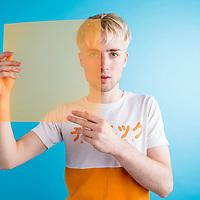 Will Joseph Cook, photographed for Dork Magazine, April 2017