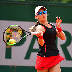 Katie Volynets of USA (Girls' Tournament) during Day 8 of the French Open 2018 on June 3, 2018 in Paris, France. (Photo by Dave Winter/Icon Sport)