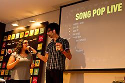 Mr. Pi durante o SongPop no Youpix Poa 2012, que acontece na ESPM, em Porto Alegre. FOTO: Emmanuel Denaui/Preview.com