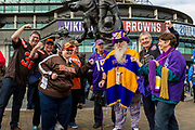 Cleveland Browns v Minnesota Vikings during the International Series match between Cleveland Browns and Minnesota Vikings at Twickenham, Richmond, United Kingdom on 29 October 2017. Photo by Jason Brown.