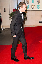 © Licensed to London News Pictures. 14/02/2016. London, UK. MICHAEL FASSBENDER arrives on the red carpet for the EE British Academy Film Awards 2016 after party held at Grosvenor House . London, UK. Photo credit: Ray Tang/LNPPhoto credit: Ray Tang/LNP