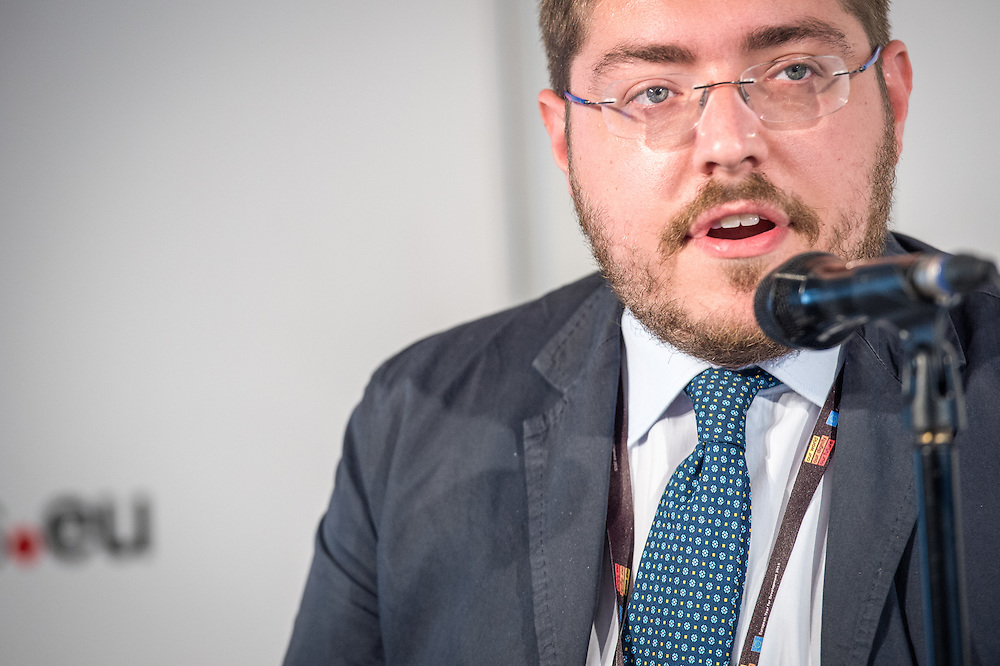 04 June 2015 - Belgium - Brussels - European Development Days - EDD - Urban - Urban journalism academy - Media training - Simone d'Antonio , Policy Analyst , Press and Communication Manager , Cittalia - Fondazione Anci Ricerche © European Union